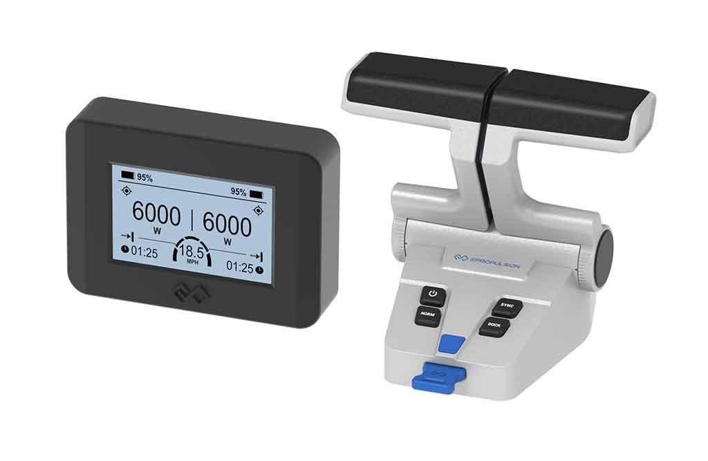 ePropulsion dual remote control