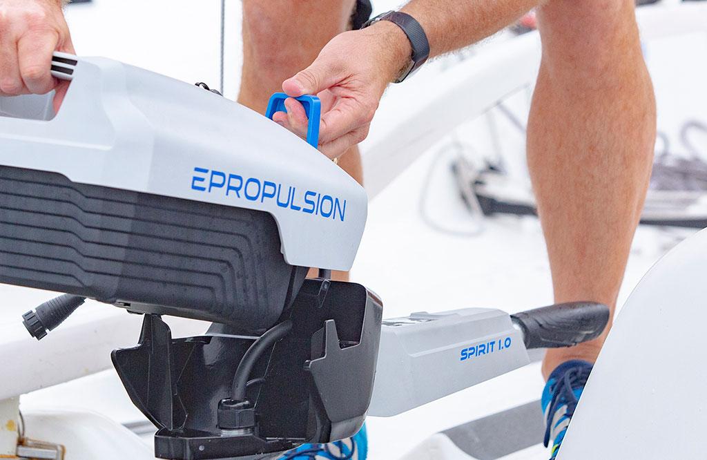 ePropulsion engine J70 sportsboat