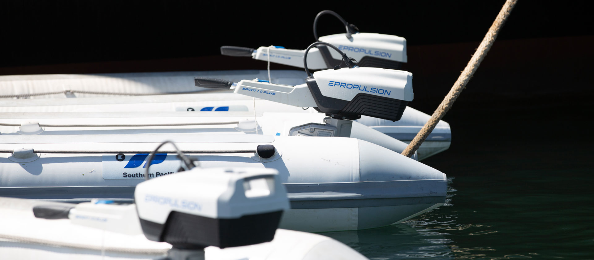 ePropulsion outboards power Sail GP tenders