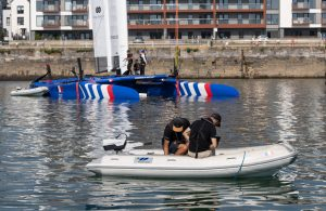 Sail GP adopts electric outboards
