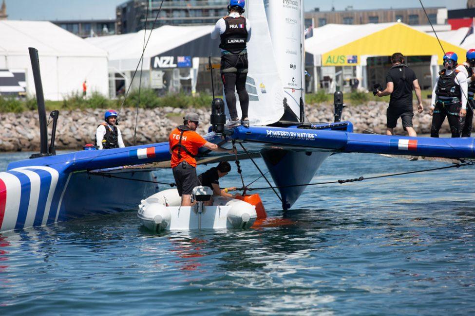 ePropulsion Spirit 1.0 Plus at Sail GP Plymouth